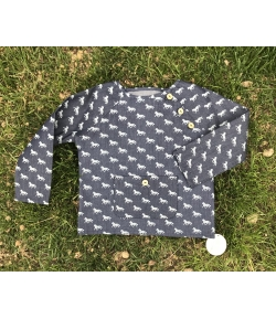 Camisa denim caballos Baby Yiro