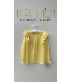 Blusa volante amarilla Baby Yiro
