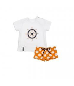 Conjunto boxer y camiseta timón Rochy