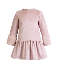 Vestido antelina rosa Teen Eve Children