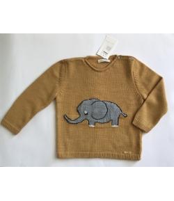 Jersey mostaza elefante Cesar Blanco