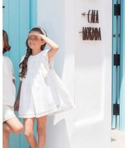 Vestido estrellas Linen Eve Children