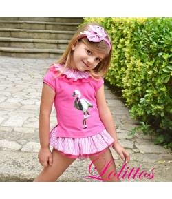 Camiseta + cubre Flamenco Lolittos