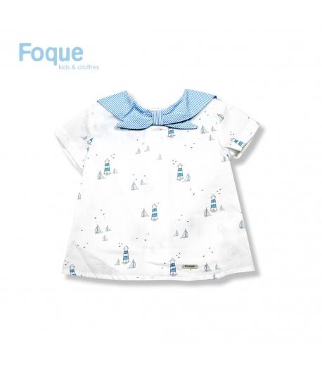 2381ee1e2 Camisa Bebe Polo de Hielo Foque - Mipetitmon
