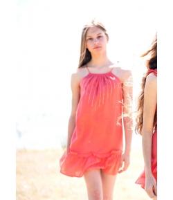 Vestido teen coral Oh!Soleil