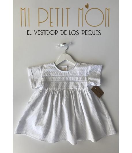 Blusa blanca plumeti Mia y Lia