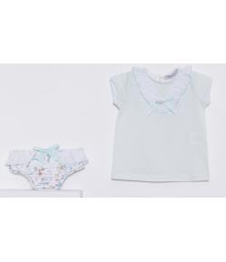 Conjunto culetin y camiseta Sirenitas Kauli