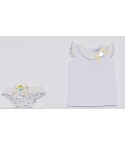 Conjunto culetin y camiseta Estrellas Kauli