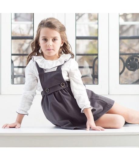 Conjunto blusa y pichi Pale Eve Children