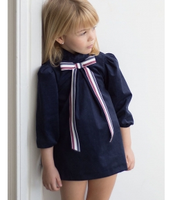 Vestido marino British Eve Children