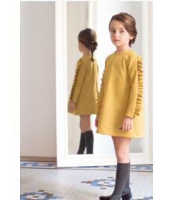 Vestido antelina Tartan Eve Children