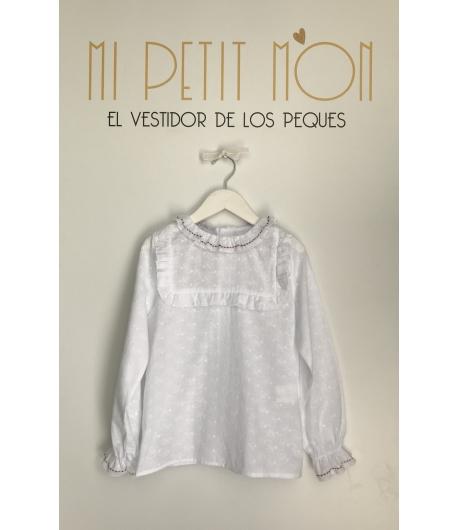 Blusa blanca Forest Kauli