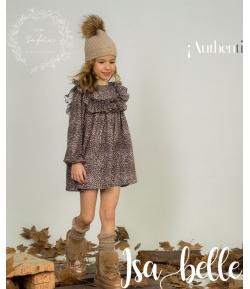 Vestido print animal Isabelle Para Sofía