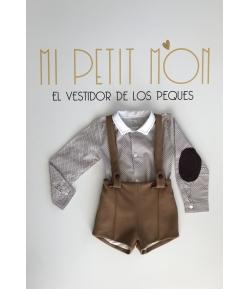Conjunto camisa y pantalon corto niño Forest Kauli