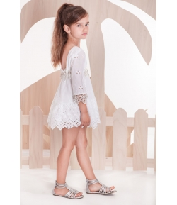 Vestido blanco Sahara Kauli