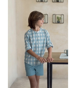 Camisa niño cuadros Jungle Eve Children