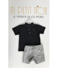 Conjunto niño polo + pantalón rayas Dragon-fly Eve Children