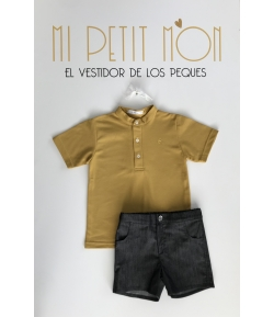 Conjunto niño polo + pantalón Bee Eve Children