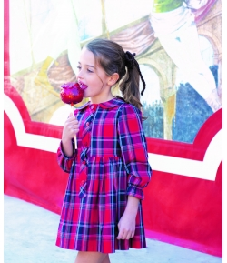 Vestido cuadros Scotish Eve Children
