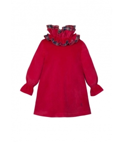 Vestido rojo Scotish Eve Children