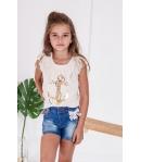Camiseta beige Menorca Kauli